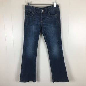 American Eagle Distressed Slim Boot Women's Jeans